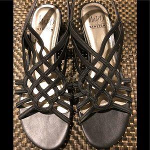 Impo Strappy Stretch Sandals